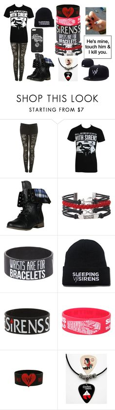 """SWS concert merch!"" by vampirekitten19 ❤ liked on Polyvore featuring Forever Link"