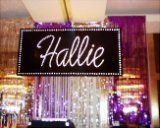 Name In Lights by Ideal Party Decorators - www.idealpartydecorators.com