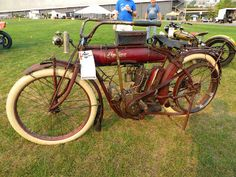 "OldMotoDude: 1909 Indian on display at ""The Meet"" 2015 Vintage ..."