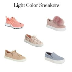 Spring 2017 Trends - Light Color Sneakers