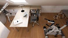 PODDASZE BOHO Interior Rendering, Interior Design, Conference Room, Boho, Table, Furniture, Home Decor, Nest Design, Decoration Home