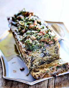 Eggplant flan with herbs Easter Dinner Recipes, Brunch Recipes, Brunch Ideas, Brunch Salad, Brunch Casserole, Salty Foods, Sauce Tomate, Ramadan Recipes, Good Healthy Recipes