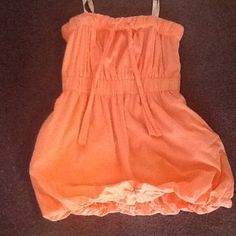 J. Crew dress size small This is a cute coral colored dress with pockets! J. Crew Dresses Mini