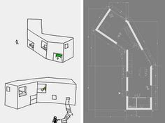 Atelier Drome A+D: Johannes Norlander Arkitektur Building A Small House, Urban Design, Design Design, Design Ideas, Architecture Details, Autocad, Design Projects, Floor Plans, Layout