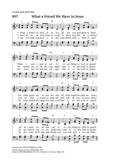 What a Friend We Have in Jesus - Hymnary.org