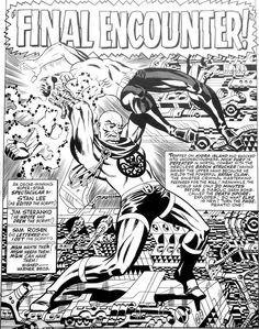 There's nothing like some Steranko comic artwork  to take you're breath away!