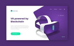 Blockchain powered VR by Marcin Paluch for Netguru