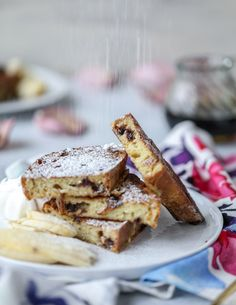 Irish Soda Bread French Toast with Whiskey Syrup and Whipped Cream. - How Sweet Eats Easy Home Recipes, Cooking Recipes, Retro Recipes, Healthy Breakfast Recipes, Breakfast Ideas, Healthy Recipes, Soda Bread, How Sweet Eats, Whipped Cream
