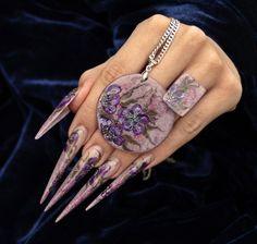 Competitive Stiletto Nail Art