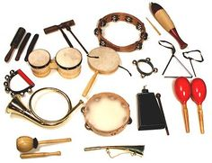 Pakistan Set Of Musical Instruments