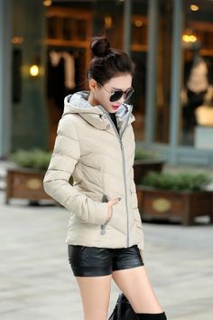 Winter Jacket Women Parka Thick Winter Outerwear Plus Size Down Coat Short Slim Design Cotton-padded Jackets And Coats Hot