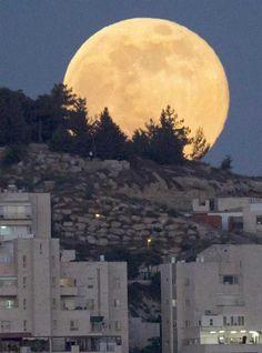 Sorpendentes imagenes de la super luna de este 2013 (Fotos)