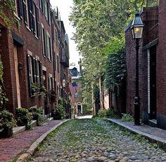 Beacon Hill Alley - My Lucky Shot, Boston, Massachusetts