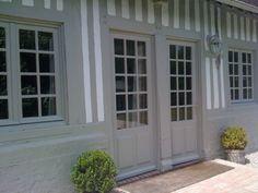 maison avec colombage peint - Recherche Google Decor, Outdoor Decor, Cottage, House, Deco, Garage Doors, Home Decor, Countryside