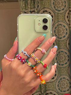 Nail Jewelry, Cute Jewelry, Jewelery, Jewelry Accessories, Funky Jewelry, Layered Jewelry, Layered Necklace, Trendy Jewelry, Jewelry Trends