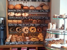 Nice Berliner bakery for a quick breakfast or lunch.