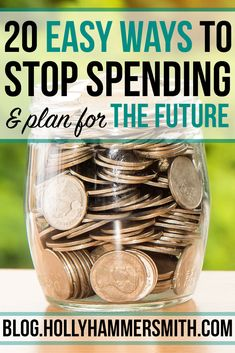 Spending Money: There are many reasons why people try to stop spending money. Saving for a vacation, a house repair or paying off debt are common reasons. This post offers 20 ways to stop spending money now and save for the future.