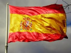 Flag of Spain Spanish Flags, Spain Flag, Places In Spain, Flags Of The World, Culture Travel, Spain Travel, Countries, Beautiful Places, Hetalia
