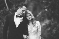Romantic Modern Vintage Bride & Groom // Photography ~ White Images