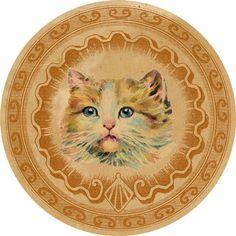 DGD - Digital Goodie - Vintage Cat Sticker 1