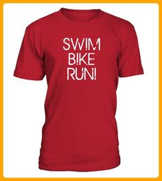 SWIM BIKE RUN - Läufer shirts (*Partner-Link)