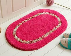 Floor Carpet Mat Living Dining Bedroom Area Rugs Pastoral Eco-friendly Anti-slip Door Floor Mat Bathroom Rug Carpet Home Textile