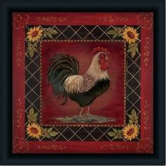 Sun Rooster I French Country Kitchen