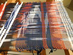 Art With a Needle Weaving Designs, Knitting Designs, Textiles, Textile Patterns, Fabric Design, Pattern Design, Types Of Weaving, Bead Weaving, Shibori