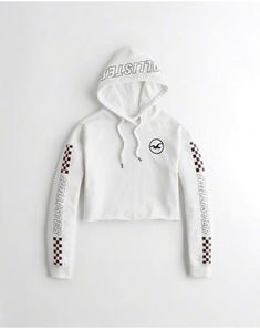 eee699a9d7031a SALE   29.99 - Checkerboard Graphic Crop Hoodie - www.hollisterco.com -  labeltail.com  Checkerboard  Graphic  Crop  Hoodie   CheckerboardGraphicCropHoodie ...