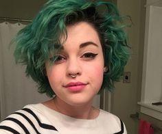 dark green hair - Google Search