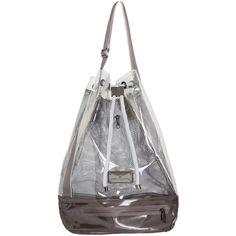 962dde5b423 Adidas by Stella Mccartney Fashion Shape Bag ( 85) ❤ liked on Polyvore  featuring bags, handbags, shoulder bags, grey, adidas backpack, grey  handbags, ...