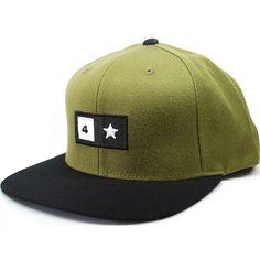 Nixon Stacked Starter Hat Black