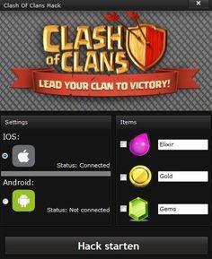 Wenn du auf der Suche nach dem neuesten Clash of Clans Hack bist, dann bist du hier genau richtig! Klicke jetzt hier für den kostenfreien Download!