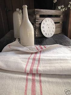 antique grain sack