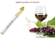Solución del jeroglífico: Adivino. (Aguja de la marca Addi y un vaso de vino. Sí, es así de malo)