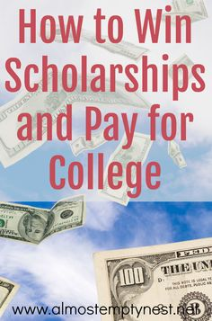 """How to Win Scholarships and Pay for College; Learn the information necessary to find scholarships, apply for them, and win them. The book """"How to Win College Scholarships"""" by Monica L. Matthews will show you how. Grants For College, College List, Financial Aid For College, Saving For College, Online College, Scholarships For College, Education College, College Planning, College Checklist"""