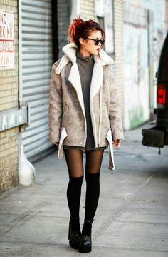 Luanna Perez winter outfit