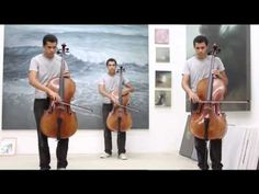 Bohemian Rhapsody for Cello this fine young artists is /was raising money for music school