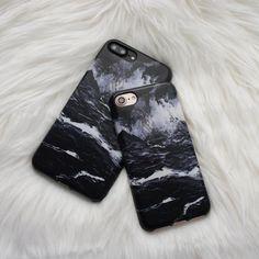 Marble Case for iPhone 7 Plus - Black - Elemental Cases - - 2| xsoundmind.wordpress.com