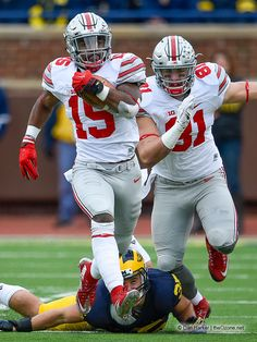 The Buckeyes smashed the Wolverine 42-13 in Ann Arbor as Ezekiel Elliott surpassed Eddie George into second place for career rushing yards at Ohio State with 3,812.