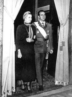 graceandfamily:  Princess Grace of Monaco with King Juan Carlos of Spain, 1975.