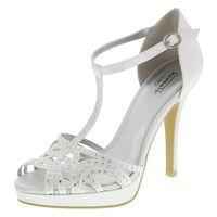Women's Kommitment Embellished Sandal, White