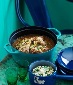 Australian Gourmet Traveller Italian recipe for veal shin with sage and garlic.