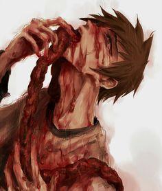 ... Horror Drawing, Horror Art, Blood Tears, Dark Love, Creepy Art, Dark Anime, Manga, Dark Art, Horror Stories