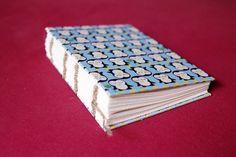 Penguin coptic stitch notebook