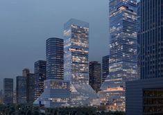 Global Headquarters of China Merchants Bank by Mecanoo