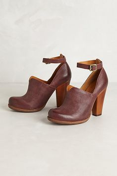 Paulette Heels #anthropologie wish I could wear these! Damn my height and sports injuries!
