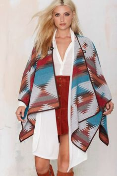 Cape It Coming Toggle Poncho | Shop Clothes at Nasty Gal!