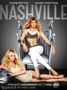 ABC's 'Nashville' official poster art unveiled. Qué ganas le tengo a esta serie!