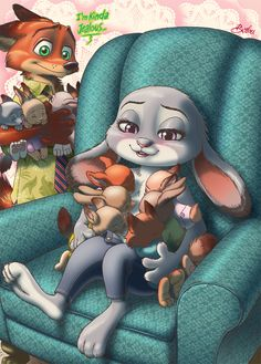 Nick and Judy's boxes and funnies by borba on @DeviantArt